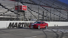 You can drive laps around Martinsville Speedway by donating to Grace Network