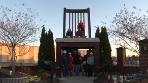 "New and redesigned ""Big Chair"" installed in Uptown Martinsville"