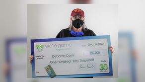 Bassett woman wins $150,000 in Virginia Lottery game