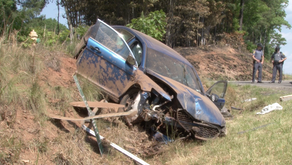 Police searching for vehicle that caused Henry County investigator to crash