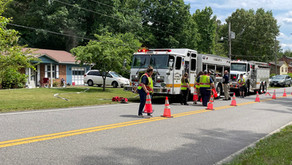 Crews respond to structure fire on Bassett Heights Road