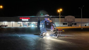 Man taken to hospital via helicopter after being hit by vehicle in Collinsville