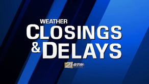 Weather closings and delays for Wednesday, December 16, 2020