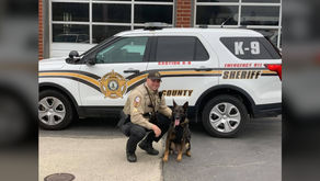 Henry County K9 retiring after being called upon more than 400 times
