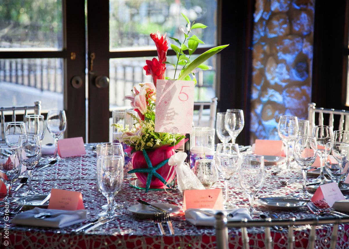 Flirty & Fun Reception Table