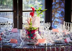 Flirty & Fun Reception Table