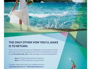 Book your dream destination wedding in St. Croix and earn $1,000 to spend during your stay!