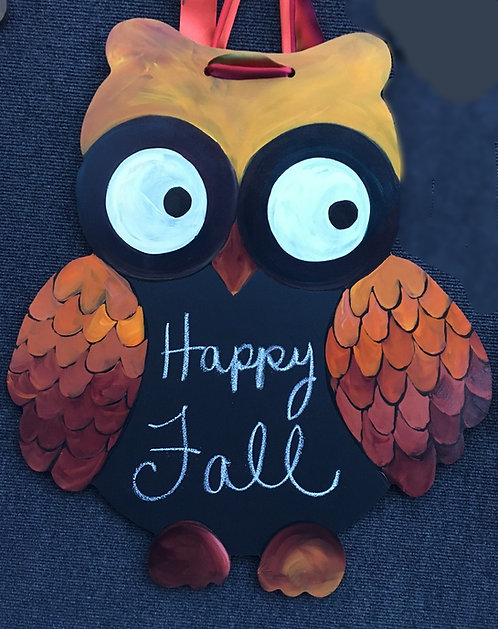 Ombre Fall Owl