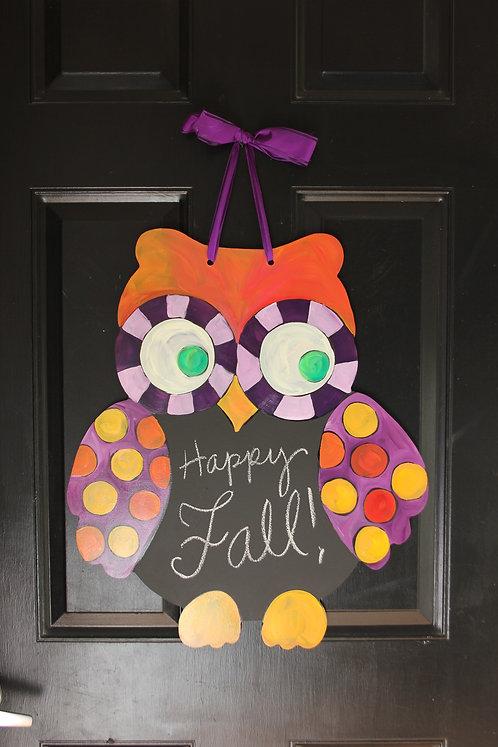 Happy Fall Owl