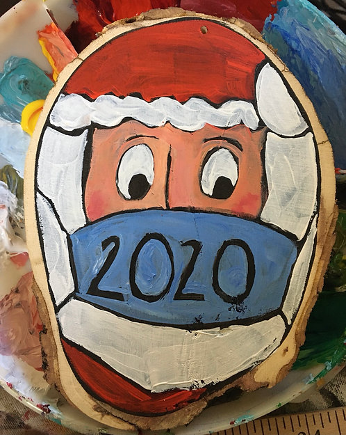 2020 Santa Ornament