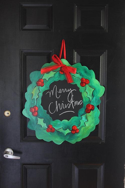 Holly Christmas Wreaths