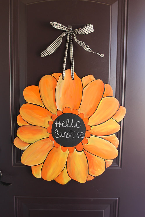Orange/Yellow Gerber Daisy