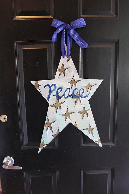 Peace Christmas Star