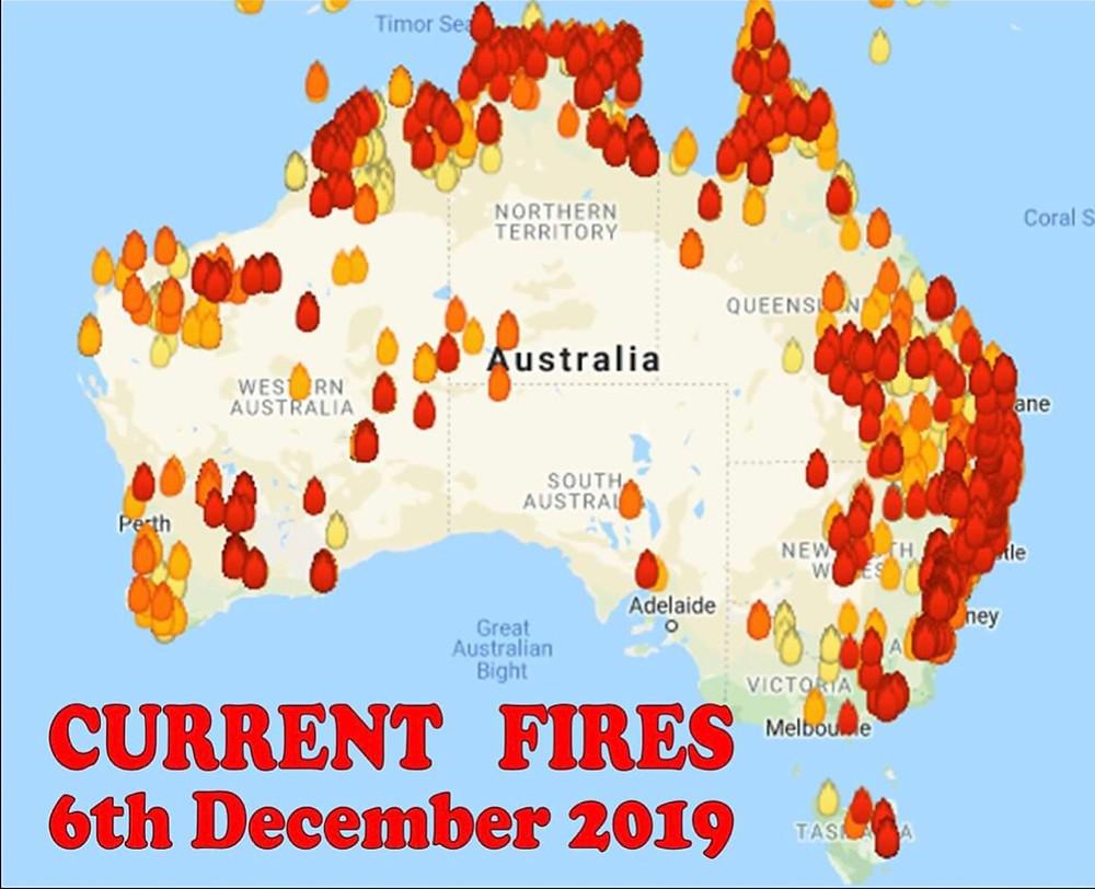 bushfire Australia 2019 climate change climate crisis