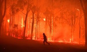 bushfire Australia 2019 fire climate crisis climate change
