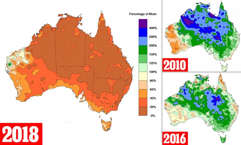 Australia drought climate change climate crisis