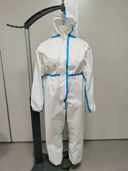 SUIT HAZMAT COVID19 WITH HOOD