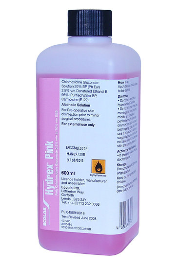 Sanitiser HYDREX 600ML