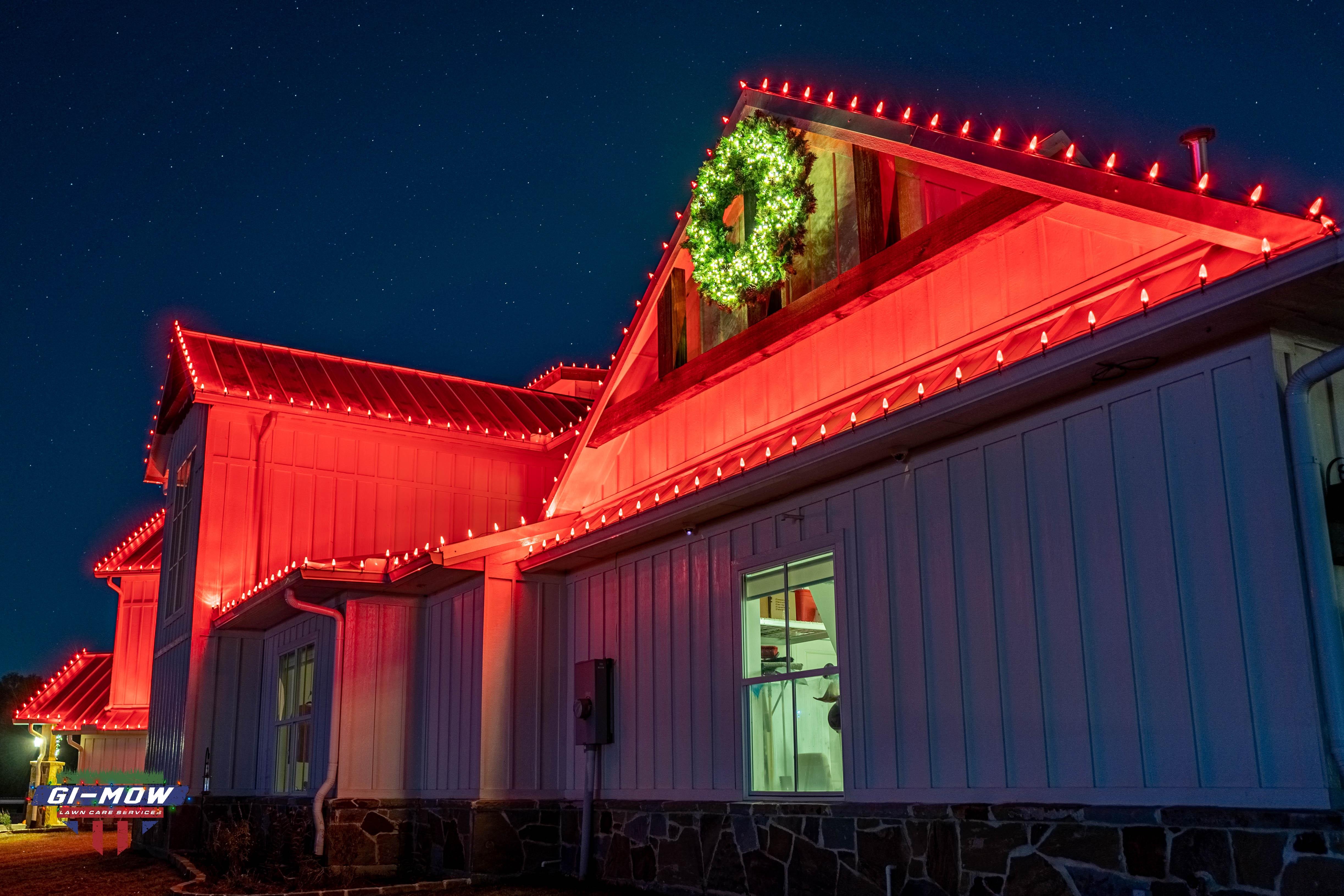 GI-Mow | Christmas Light Installation