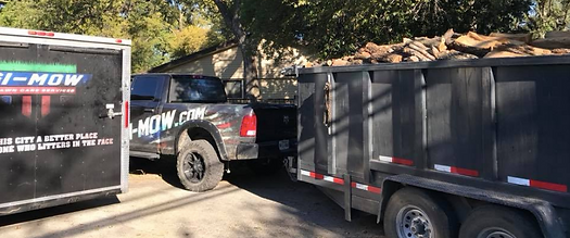 Firewood Delivery | GI-Mow Lawn Care Services