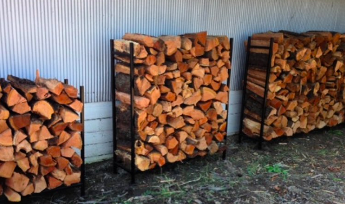 Firewood Delivered & Stacked