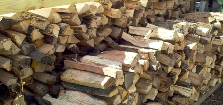 Firewood Delivered & Stacked