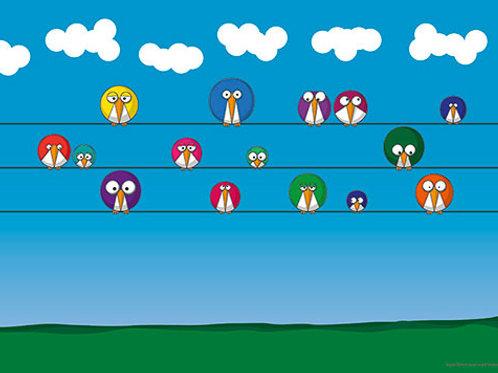 Fifteen Birds