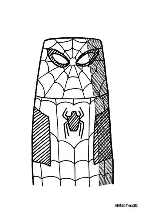 BTC Superhelte SPIDERMAN
