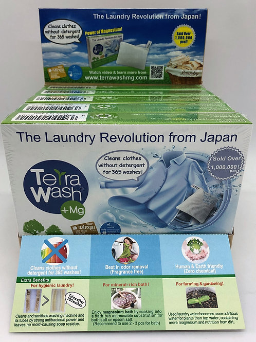 (For US Retailer) Terra Wash+Mg, 5pcs with Display