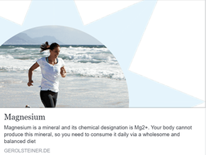 Do you know how much magnesium your body has?