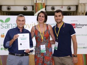Sana Novita Award in Italy