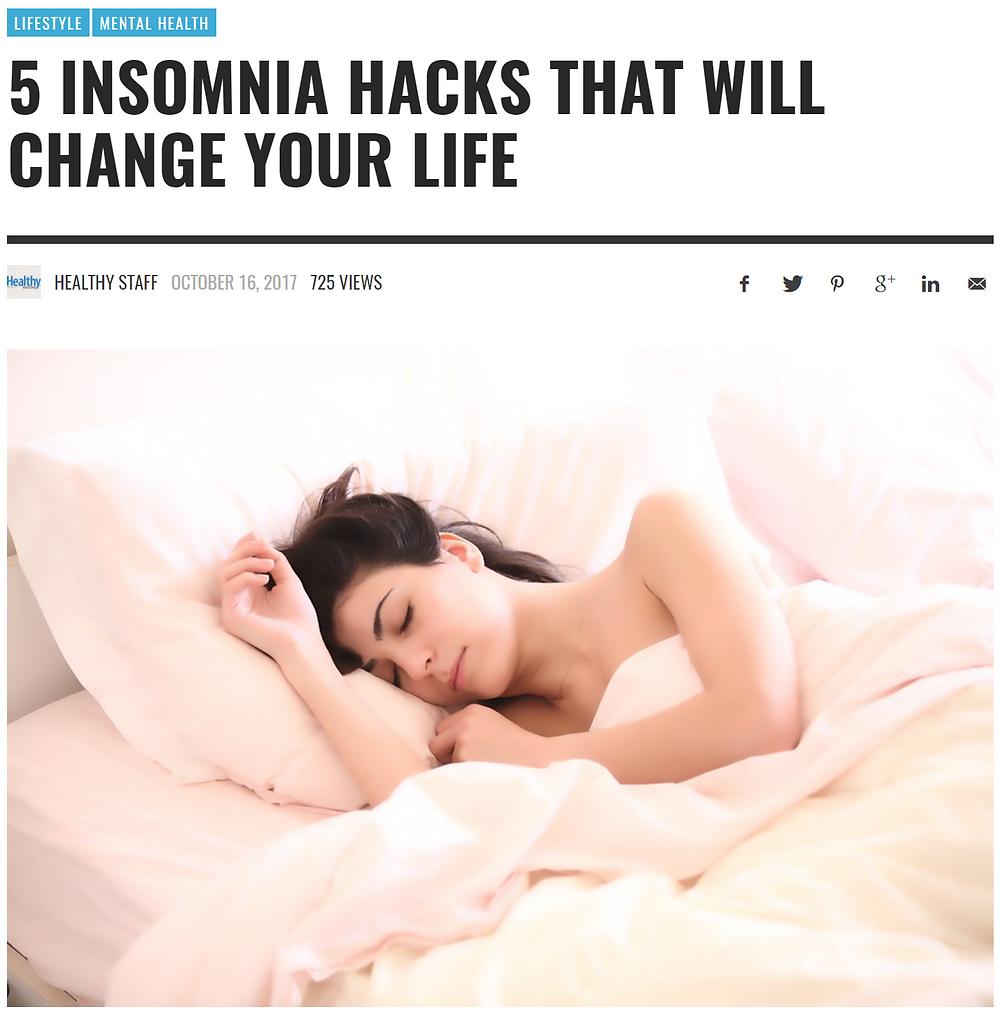 Magnesium for quality sleep