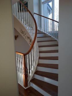 Custom Hardwood Stairs|Colorado Springs