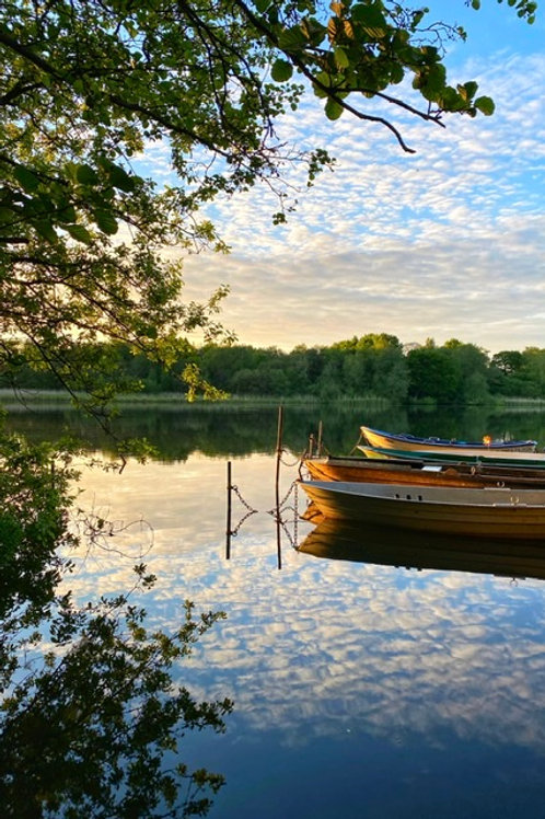 Reflections - Canvas Image - The Old Boats - Marbury Park