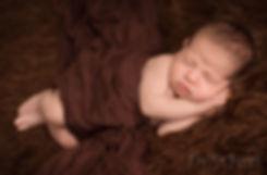 cute newborn baby boy photo