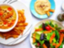 Mano's Snacks Soups Salads Pita