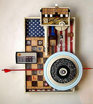 assemblage artist workshop - Pablo von Lichtenberg