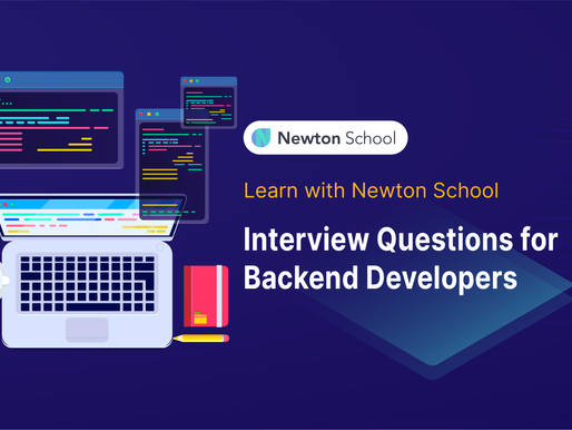 Interview questions for Backend Developers