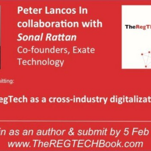 Just submitted our abstract to the #RegTech Book!!