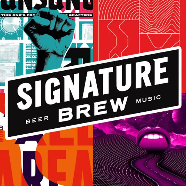Signature Brew Beer tasting event