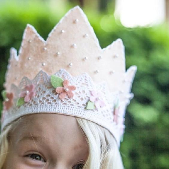 Children's Tiara or Crown Making Workshop
