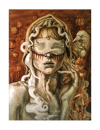 'Pale Rider' Art Print