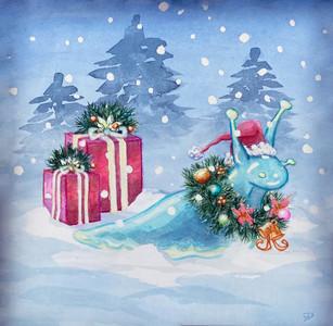 Holiday Slug (commission)