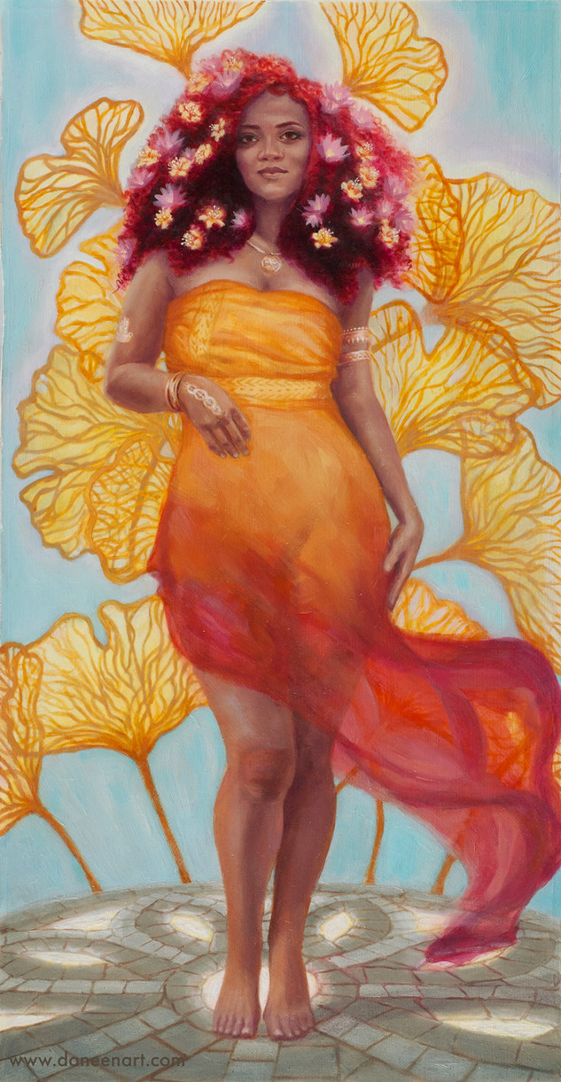 Ostara- Goddess of spring and dawn