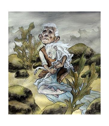 'Brevity' Art Print