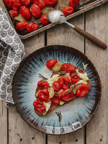 10 Days Of Toast - Day 1 - Camembert & Roasted Tomatoes