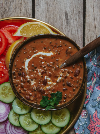 Dal Makhani - The Buttery North Indian Lentil Dish