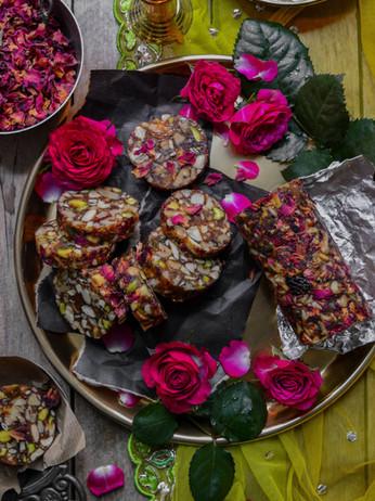 Cardamom Fruit & Nut Discs