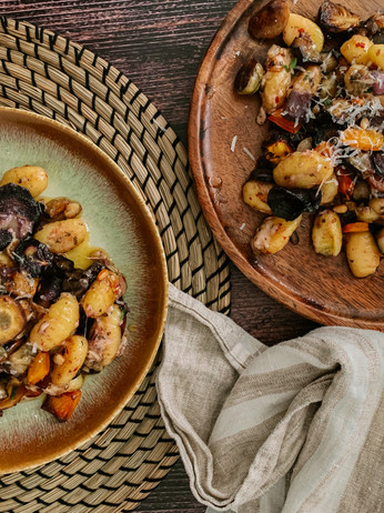 Veg, Butter & Parmesan Gnocchi