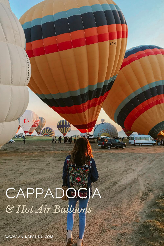 cappadocia hot air balloon experience